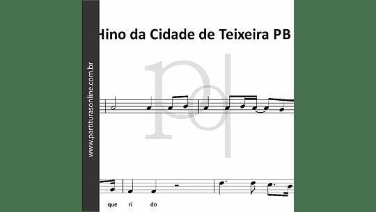 Hino de Teixeira - PB