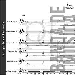 Eva | Rádio Taxi - para Banda de Música