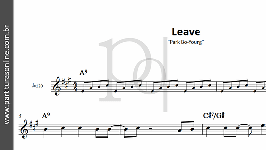Leave | Park Bo-Young
