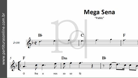 Mega Sena | Pablo