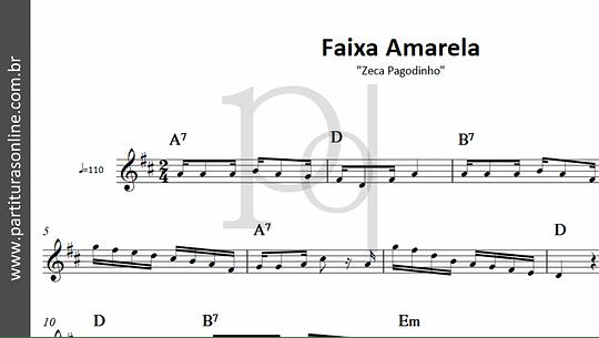 Faixa Amarela | Zeca Pagodinho