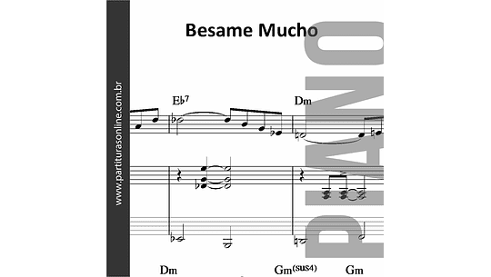 Besame Mucho | para Piano