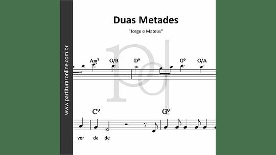Duas Metades | Jorge e Mateus