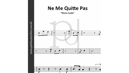 Ne Me Quitte Pas | Maria Gadú