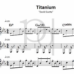 Titanium | David Guetta - para Violino & Saxofone