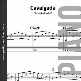 Cavalgada | Roberto Carlos *para Piano