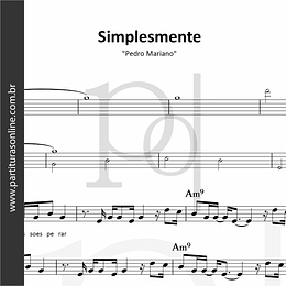 Simplesmente | Pedro Mariano