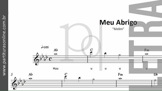 Meu Abrigo | Melim