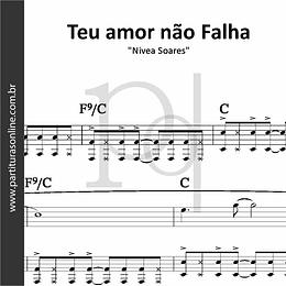Teu Amor não Falha | Nívea Soares