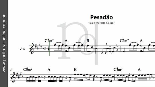 Pesadão | Iza & Marcelo Falcão