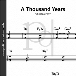 A Thousand Years | Christina Perri
