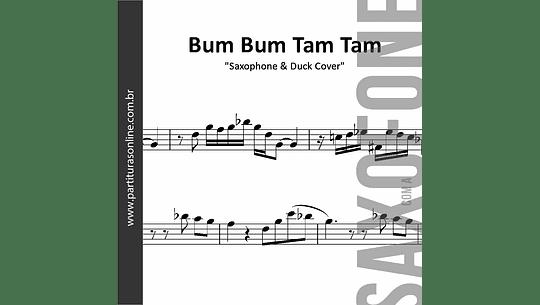 Bum Bum Tam Tam   MC Fioti . Saxophone & Duck Cover - para Saxofone's