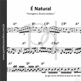 É Natural | Ferrugem e Bruno Cardoso