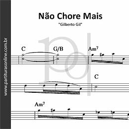 Não Chore Mais (No Woman no Cry)   Gilberto Gil