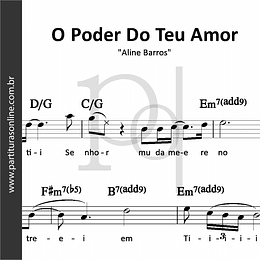 O Poder Do Teu Amor | Aline Barros