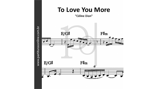 To Love You More | Céline Dion