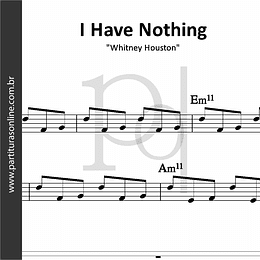 I Have Nothing | Whitney Houston