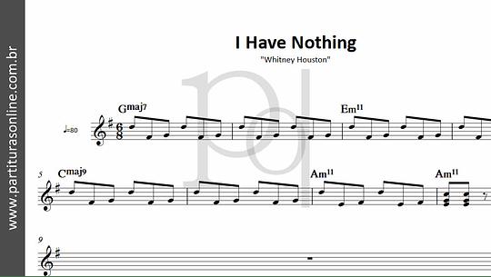 I Have Nothing | Whitney Houston