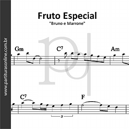 Fruto Especial | Bruno e Marrone