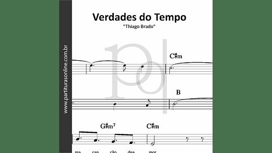Verdades do Tempo | Thiago Brado