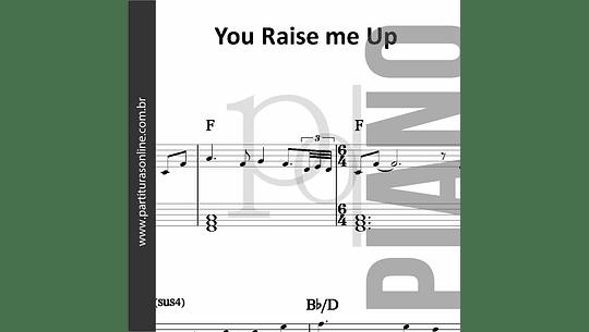 You Raise me Up   para Piano