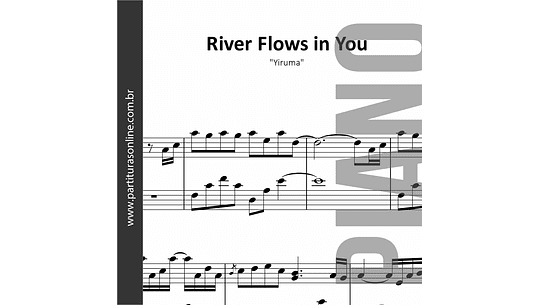 River Flows in You | Yiruma - para Piano