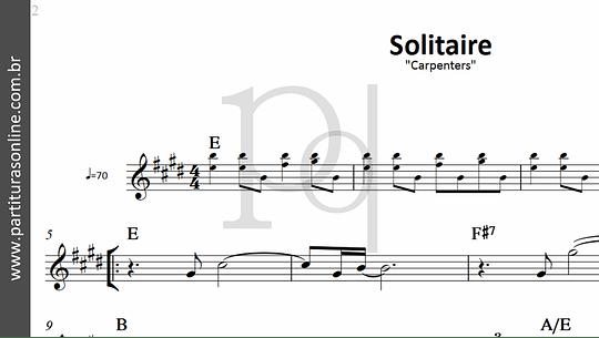 Solitaire | Carpenters