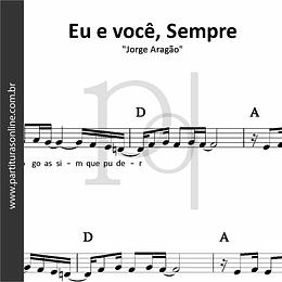 Eu e você, Sempre | Jorge Aragão