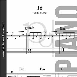 Jó | Midian Lima - para Piano