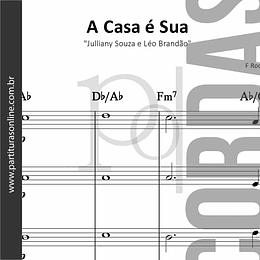 A Casa é Sua | Julliany Souza e Léo Brandão - Quarteto de Cordas