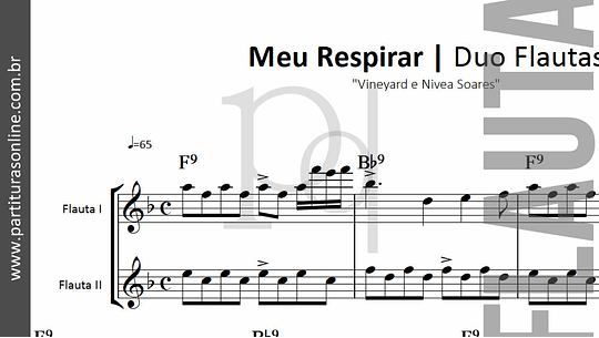 Meu Respirar | Vineyard e Nivea Soares - Duo Flautas