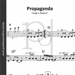 Propaganda | Jorge e Mateus