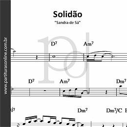 Solidão | Sandra de Sá