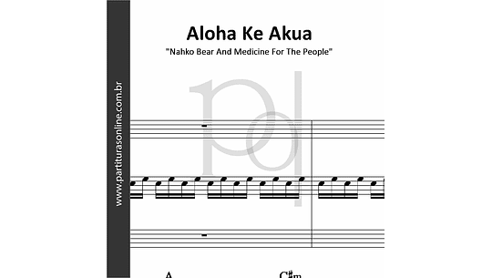 Aloha Ke Akua | para Piano