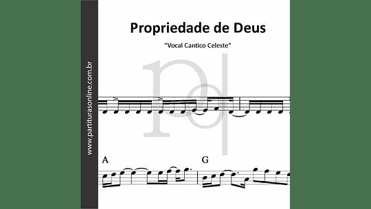 Propriedade de Deus | Vocal Cantico Celeste