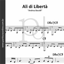 Ali di Libertà | Andrea Bocelli