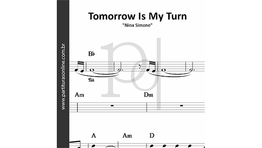 Tomorrow Is My Turn | Nina Simone