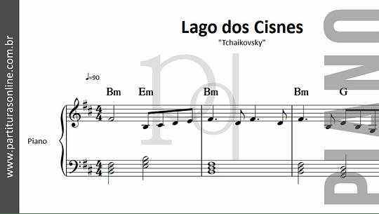 Lago dos Cisnes | para Piano