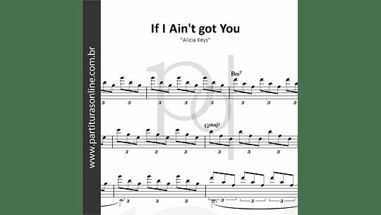 If I Ain't got You | Alicia Keys