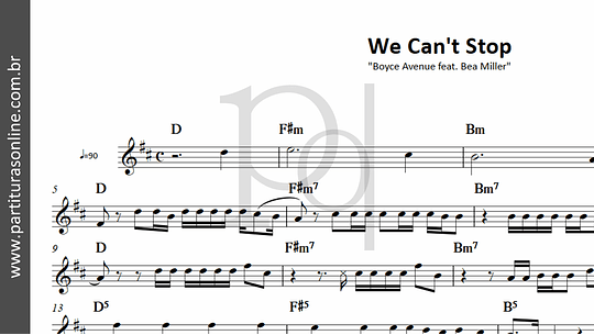 We Can't Stop | Boyce Avenue feat. Bea Miller