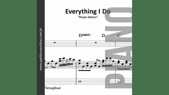 Everything I Do | para Piano