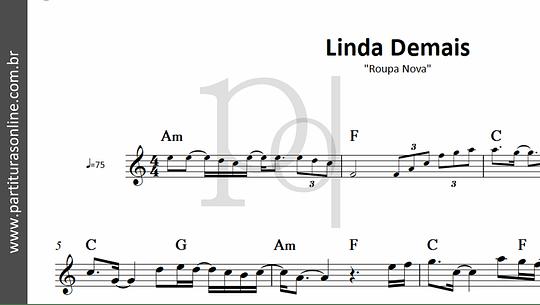 Linda Demais | Roupa Nova