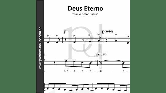 Deus Eterno   Paulo César Baruk