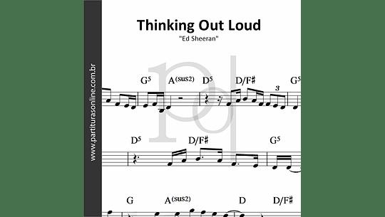 Thinking Out Loud   Ed Sheeran
