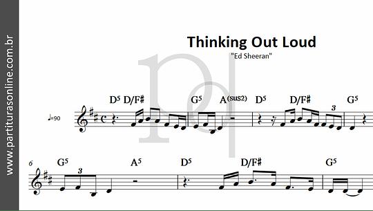 Thinking Out Loud | Ed Sheeran