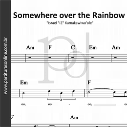 "Somewhere over the Rainbow   Israel ""IZ"" Kamakawiwo'ole"