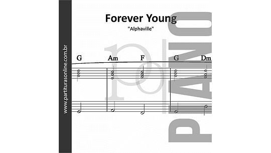 Forever Young | para Piano
