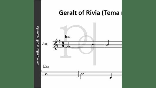 Geralt of Rivia (Tema reduzido)
