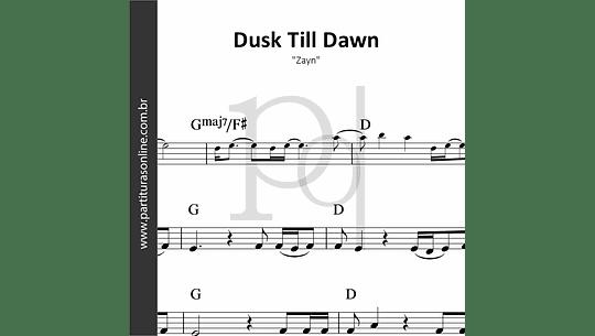 Dusk Till Dawn | Zayn