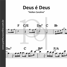 Deus é Deus| Hellen Caroline